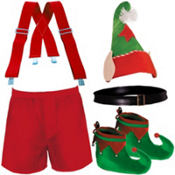 Trendy Elf Morphsuit Accessories Set
