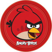 Angry Birds Lunch Plates 8ct