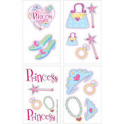 Princess Tattoos 1 Sheet