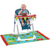 Cars 1st Birthday High Chair Decorating Kit 2pc