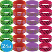 Giant Girls Wristbands 24ct