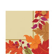Festive Fall Lunch Napkins 36ct