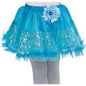 Girls Aqua Fairy Tutu