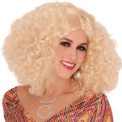 Disco Darling Blonde Wig