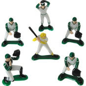 Baseball Cake Toppers 6ct