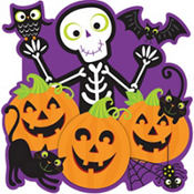 Pumpkin Patch Cutout 15in