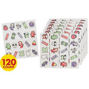 Halloween Glow in the Dark Temporary Tattoos Value Pack 120ct