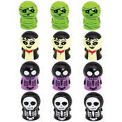 Skeleton Finger Puppets 12ct