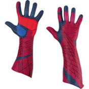 Adult Amazing Spider-Man Gloves Deluxe