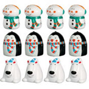 Winter Finger Puppets 12ct