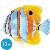 Copperband Fish Cutout 15in 12ct