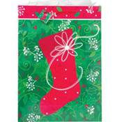 Super Jumbo Stocking Gift Bag 25in