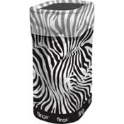 Zebra Flings® Recycle & Trash Bin