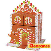 Gingerbread House Favor Box Centerpiece