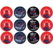 Spiderman Erasers 12ct
