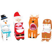 Christmas Finger Puppets 4ct