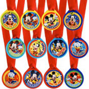 Mickey Mouse Award Medals 12ct