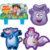 Dora and Friends Birthday Candles 4ct
