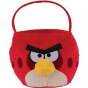 Plush Angry Birds Basket