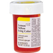 Lemon Yellow Icing Color 1oz