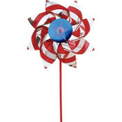 Red, White & Blue Pinwheel 18in