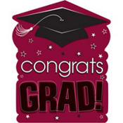 Berry Congrats Grad Cutout 15in