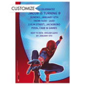 Spider-Man Custom Invitation
