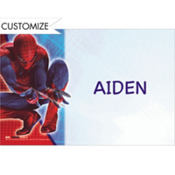 Spider-Man Custom Thank You Note
