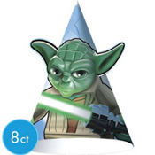 Lego Star Wars Party Hats 8ct