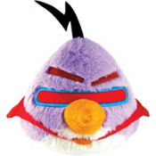 Purple Angry Birds Space Plush Toy 5in