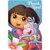 Dora the Explorer Thank You Notes 8ct