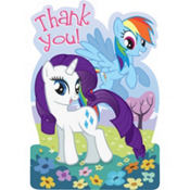 My Little Pony Thank You Notes 8ct