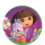 Dora the Explorer Dessert Plates 8ct