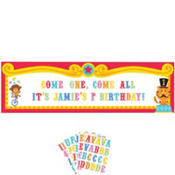 Personalized Fisher Price 1st Birthday Banner 65in