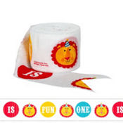 1st Birthday Fisher-Price Circus Streamer