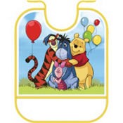 Pooh and Pals Birthday Bib