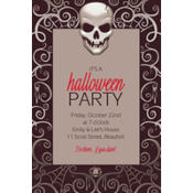 Fright Night Custom Invitation