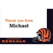 Cincinnati Bengals Custom Thank You Note