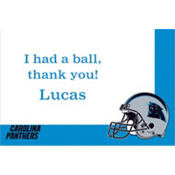 Carolina Panthers Custom Thank You Note