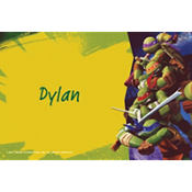 Teenage Mutant Ninja Turtles Custom Thank You Note