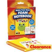 Foam Notebook Craft Kit