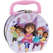 Mini Dora and Friends Tin Box