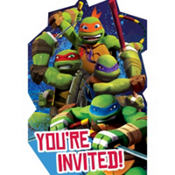 Teenage Mutant Ninja Turtles Invitations 8ct
