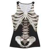 Adult Skeleton Tank Top