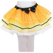 Child Candy Corn Fairy Tutu