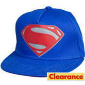 Superman Logo Baseball Hat