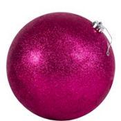 Pink Ball Christmas Ornament