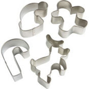 Milk 'n' Cookies Cookie Cutter Set 4pc