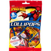 Spider-Man Lollipops 8ct
