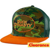 Camo Duck Dynasty Trucker Hat